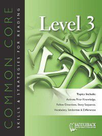 Common Core Skills & Strategies for Reading: Common Core Skills & Strategies for Reading Level 3