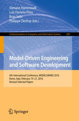 Communications in Computer and Information Science: Model-Driven Engineering and Software Development