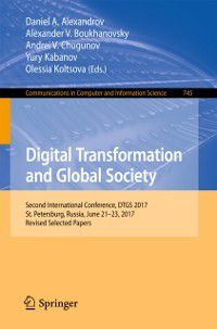 Communications in Computer and Information Science: Digital Transformation and Global Society