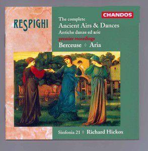 Compl.Ancient Airs A.Dances/+, Richard Hickox, Sinfonia 21