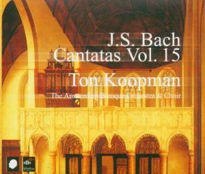 Complete Bach Cantatas Vol.15, Ton & The Amsterdam Baroque Orchestra Koopman