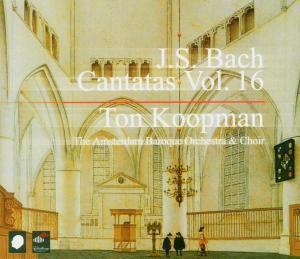 Complete Bach Cantatas Vol.16, Ton Koopman, Amsterdam Baroque Orchestra