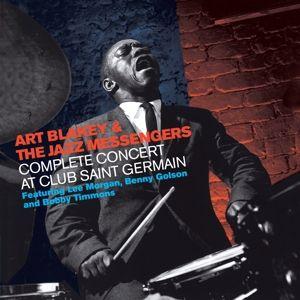 Complete Concert At Club Saint Germain, Art & The Jazz Messengers Blakey