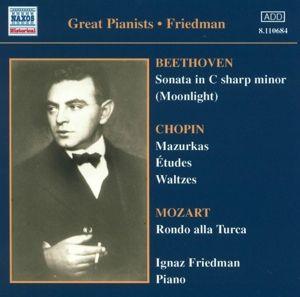 Complete Recordings Vol.1, Ignaz Friedman