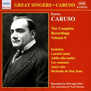 Complete Recordings Vol.8, Enrico Caruso