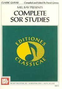 Complete Sor Studies for Guitar, David Grimes