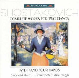 Complete Works For Two Pianos An, Luisa Fanti Zurkowskaja, Sabrina Filberi