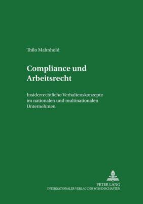 Compliance Und Arbeitsrecht Buch Bei Weltbildde Online Bestellen