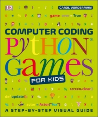 Computer Coding Python Games for Kids, Dk