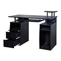 Computertisch mit Druckerablage - Produktdetailbild 4