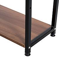Computertisch mit Regal (Farbe: schwarz) - Produktdetailbild 6