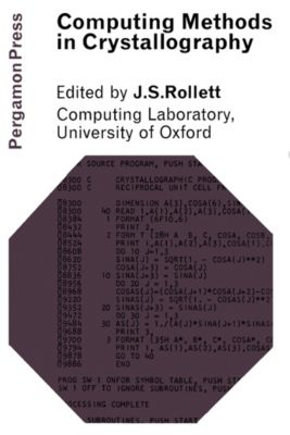 Computing Methods in Crystallography