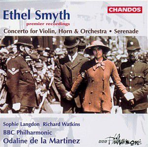 Conc.F.Violin,Horn & Orch./+, Langdon, Watkins, Martinez, Bbcp