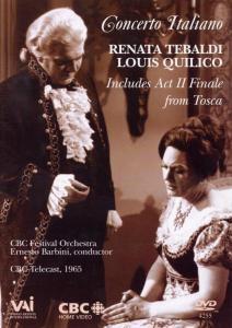 Concerro Italiano, Louis Quilico Renata Tebaldi