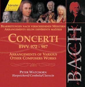 Concerti Bwv 972-987, Peter Watchorn