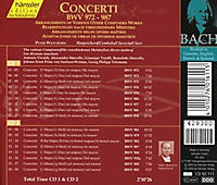 Concerti Bwv 972-987 - Produktdetailbild 1