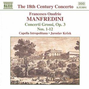 Concerti Grossi Op.3 1-12, Krcek, Capella Istropolitana
