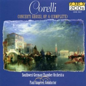 Concerti Grossi,Op.6, Angerer, SW Germany Co