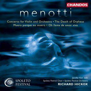 Concerto For Violoin & Orches., Hickox, J. Koh, Spoleta Fest.