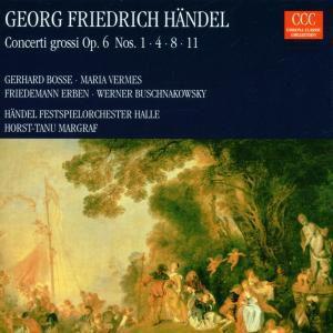 Concerto Grossi Op.6 1,4,8,11, Händel-festspiel-orchester Halle, Markgra