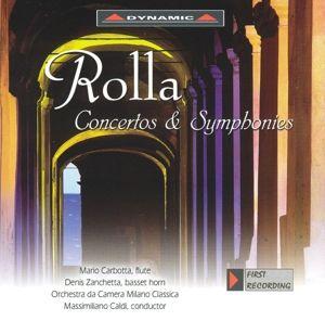 Concertos And Symphonies, Mario Carbotta, Denis Zanchetta