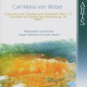 Concertos For Clarinet & Orchester, Carbonare, Haydn So Bozen