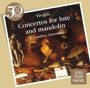 Concertos For Lute And Mandolin, Il Giardino Armonico, Antonini
