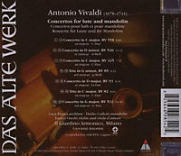 Concertos For Lute And Mandolin - Produktdetailbild 1