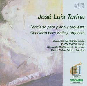 Concierto Piano & Violin, Gonzales, Martin, Perez, So Tenerife