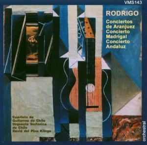 Conciertos Madrigal / Andaluz, Cuarteto De Guitarras Chile