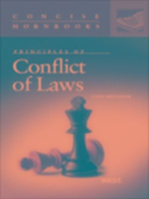Conflict of laws in the United States