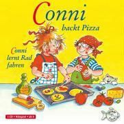 Conni backt Pizza / Conni lernt Rad fahren, 1 Audio-CD, Julia Boehme, Liane Schneider
