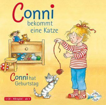 Conni bekommt eine Katze / Conni hat Geburtstag, 1 Audio-CD, Julia Boehme, Liane Schneider