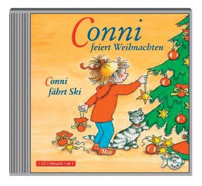 conni feiert weihnachten conni f hrt ski 1 audio cd h rbuch. Black Bedroom Furniture Sets. Home Design Ideas