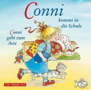 Conni kommt in die Schule / Conni geht zum Arzt, 1 Audio-CD, Julia Boehme, Liane Schneider