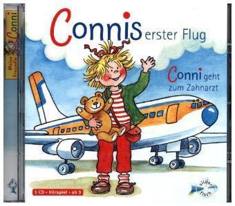 Connis erster Flug / Conni geht zum Zahnarzt, 1 Audio-CD, Julia Boehme, Liane Schneider