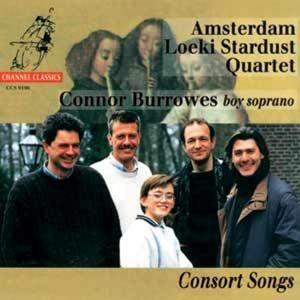 Consort Songs, Amsterdam Loeki Stardust Quartet, Conno Burrowes