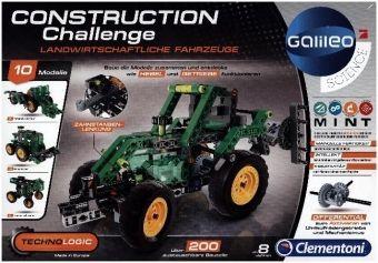 Construction Challenge Landwirtschaftliche Fahrzeuge (Experimentierkasten)