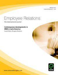 Contemporary developments in HRM in Latin America