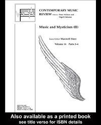 Contemporary Music Review: Music and Mysticism
