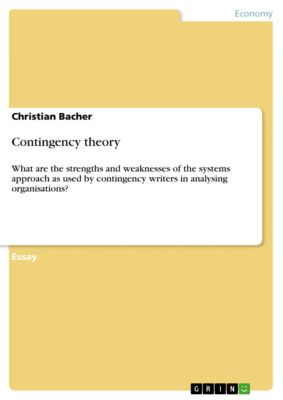 Contingency theory, Christian Bacher