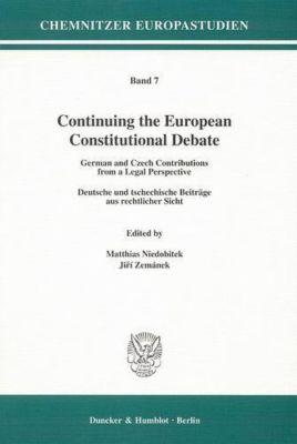 Continuing the European Constitutional Debate