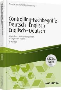 Controlling-Fachbegriffe Deutsch-Englisch, Englisch-Deutsch, Annette Bosewitz, René Bosewitz