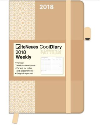 Cool Diary PATTERN/Apricot 2018