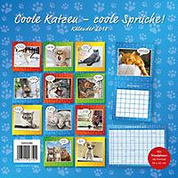 Coole Katzen Broschurkal. 2018 - Produktdetailbild 15