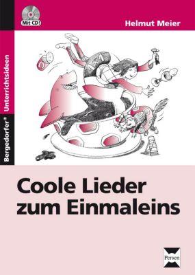 Coole Lieder zum Einmaleins, m. Audio-CD, Helmut Meier