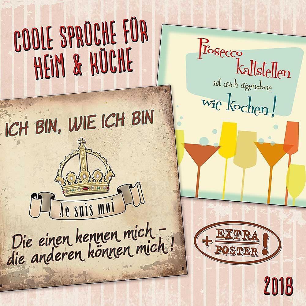 Coole Spruche Fur Heim Und Kuche 2018 Kalender Bei Weltbild De