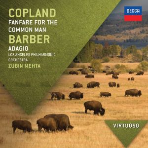 Copland: Fanfare For The Common Man / Barber: Adagio, Aaron Copland, Samuel Barber