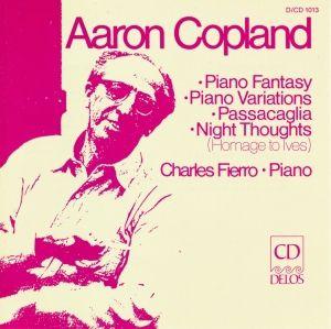 Copland/Klavierwerke, Charles Fierro