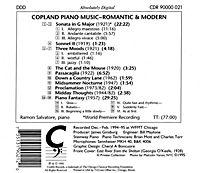 Copland Klavierwerke - Produktdetailbild 1